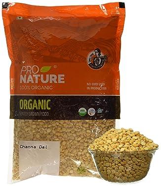 Pro Nature 100% Organic Channa Dal, 1kg