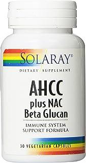 Solaray AHCC + NAC & Beta Glucan, Veg Cap (Btl-Plastic)   30ct
