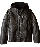 Urban Republic Kids - Faux Leather Biker Jacket (Little Kids)
