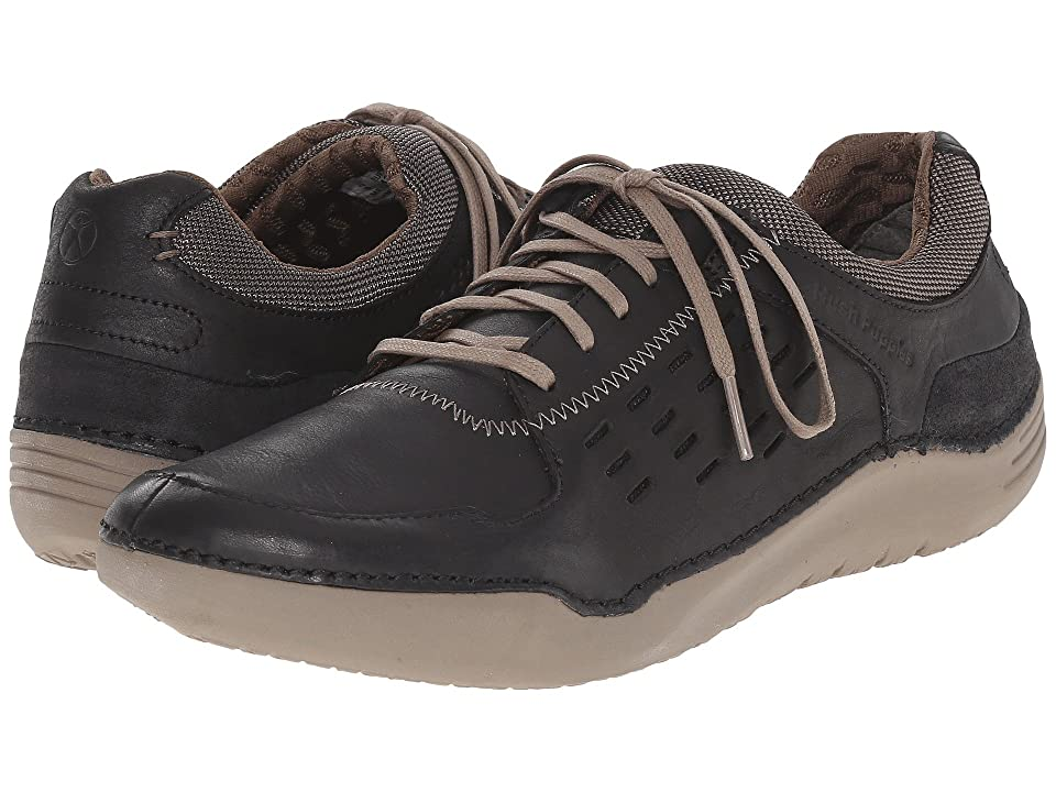 Hush Puppies Hinton Method (Black Leather) Men