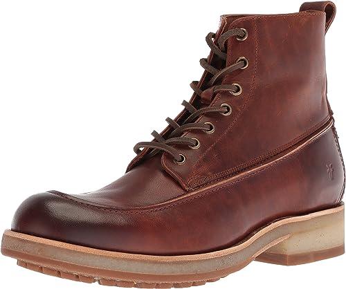 FRYE Men& 039;s Rainer WorkStiefel Fashion Stiefel, Cognac, 8.5 M