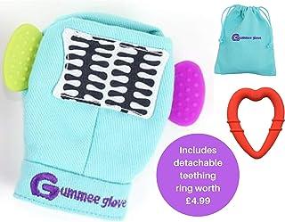 Gummee Glove - Eldiven Dış Kaşıyıcı Turkuaz 3-6 Ay