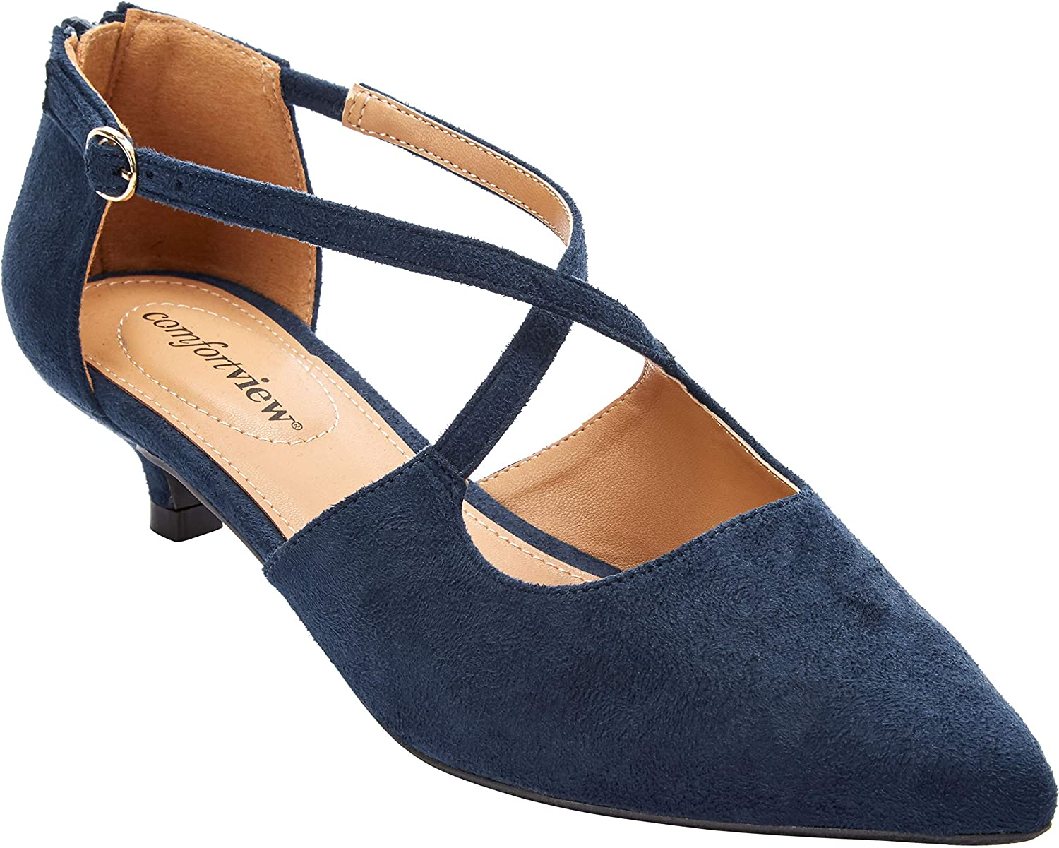 supreme Comfortview Women's Wide Width Challenge the lowest price The Pump Dawn