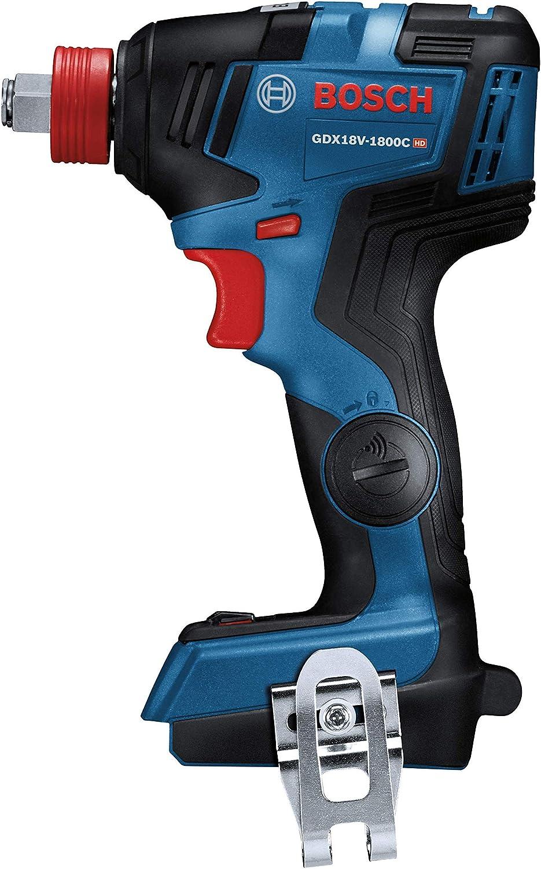 Bosch GDX18V-1800 期間限定今なら送料無料 18V Brushless Impact Baretool 新発売 Renewed