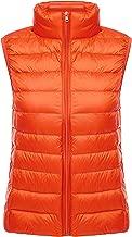 Yeokou Womens Slim Packable Lightweight Quilted Short Puffer Down Vest Waistcoat