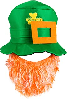 One St. Patty's Day Leprechaun Hat With Beard