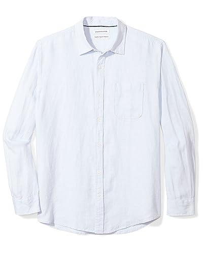 19b053d7db4a Men's Linen Shirts: Amazon.com