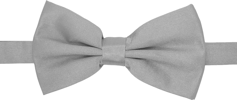Ferrecci Premium Adjustable Satin Bow Tie - Many Colors