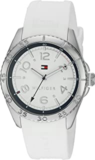Tommy Hilfiger Women's 1781635 Lizzie Analog Display Japanese Quartz White Watch