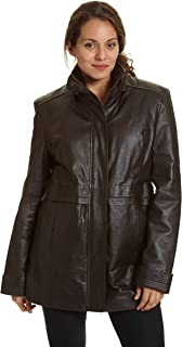 Excelled Leather Women's Multi Pocket Anorak