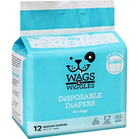 waist 5.5-11 inches,weight 1.1-3.3 lb Mayco Bell 10 Pcs Pet Dog Menstrual Diaper Disposable Female Wraps Menstruation Pads Paper Diapers Puppy Shorts Underwear Panty XXS