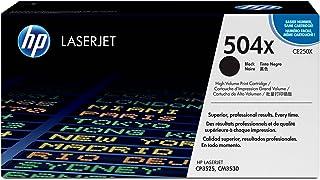 HP 504A Hewlett Packard Original LaserJet Colour Sphere Toner Cartridge, Black - CE250A