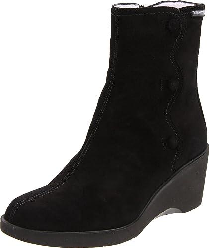 Mephisto - Tensy noir - bottes compensées Femme