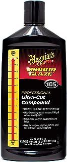 Meguiar's M10508 Mirror Glaze Ultra-Cut Compound, 8 Fluid Ounces, 1 Pack