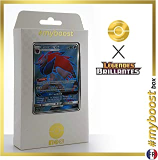 Zoroark-GX SM84 Full Art - #myboost X Soleil & Lune 3.5 Légendes Brillantes - Box of 10 Pokemon French Cards