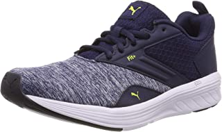 Puma Unisex Adults' NRGY Comet Competition Running Shoes, Blue (Peacoat-Blazing Yellow) 9 UK