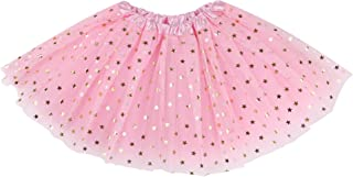 Simplicity Baby Girl's 4 Layers Tulle Tutu Skirt, 6 Months to 8 Years