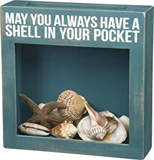 Primitives by Kathy May You Always Have A Shell in Your Pocket Shell Shadow Box