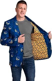 NBA Mens Digital Camo Party Business Suit Jacket
