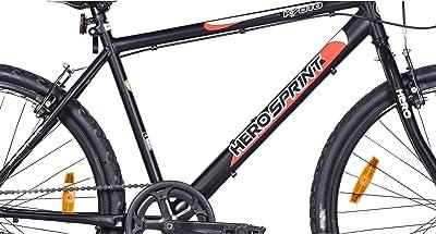Hero Kyoto 26T Single Speed Mountain Bike (Black, Ideal For : 12+ Years )