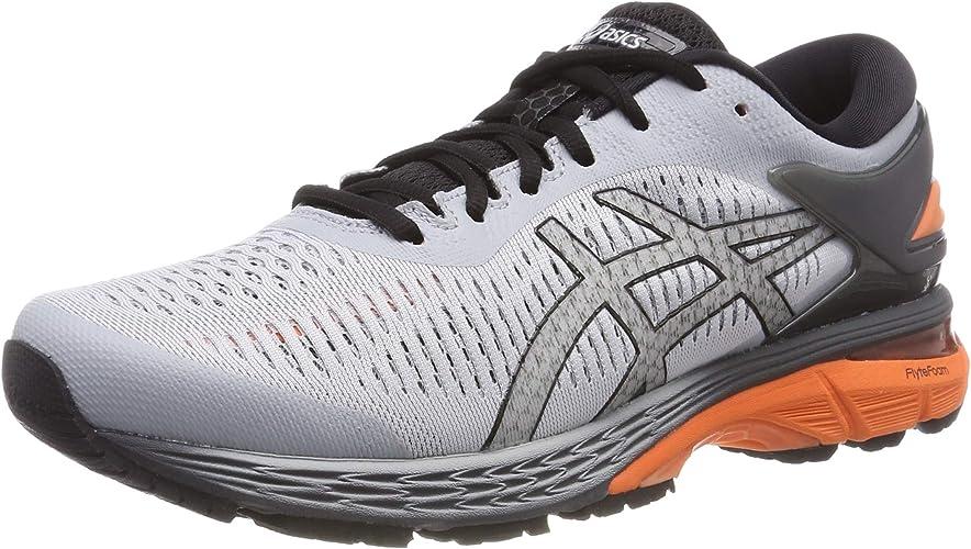 ASICS Hommes Gel-Kayano 25 Stability FonctionneHommest chaussures FonctionneHommest chaussures lumièregris - Dark gris 14
