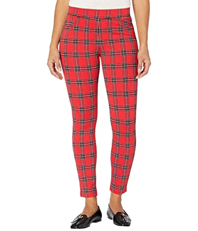 Sanctuary Runway Ponte Leggings with Functional Pockets in Cambridge Plaid Women