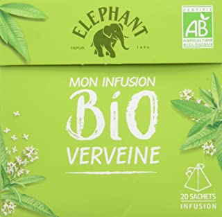 Elephant Bio Infusion Verveine 20 Sachets 26g
