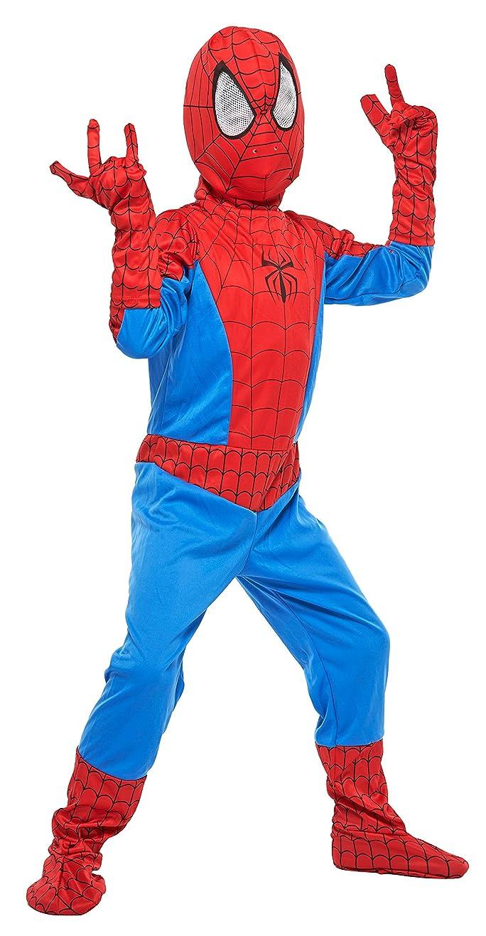 リング空のワーカーマーベル スパイダーマン キッズコスチューム 男の子 120cm-140cm