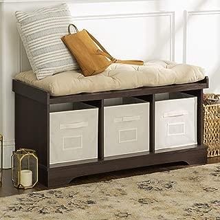 WE Furniture Storage Bench, 42