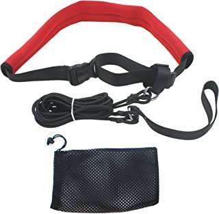 YYST 2.0M Pool Swim Training Leash Swim Training Belt...
