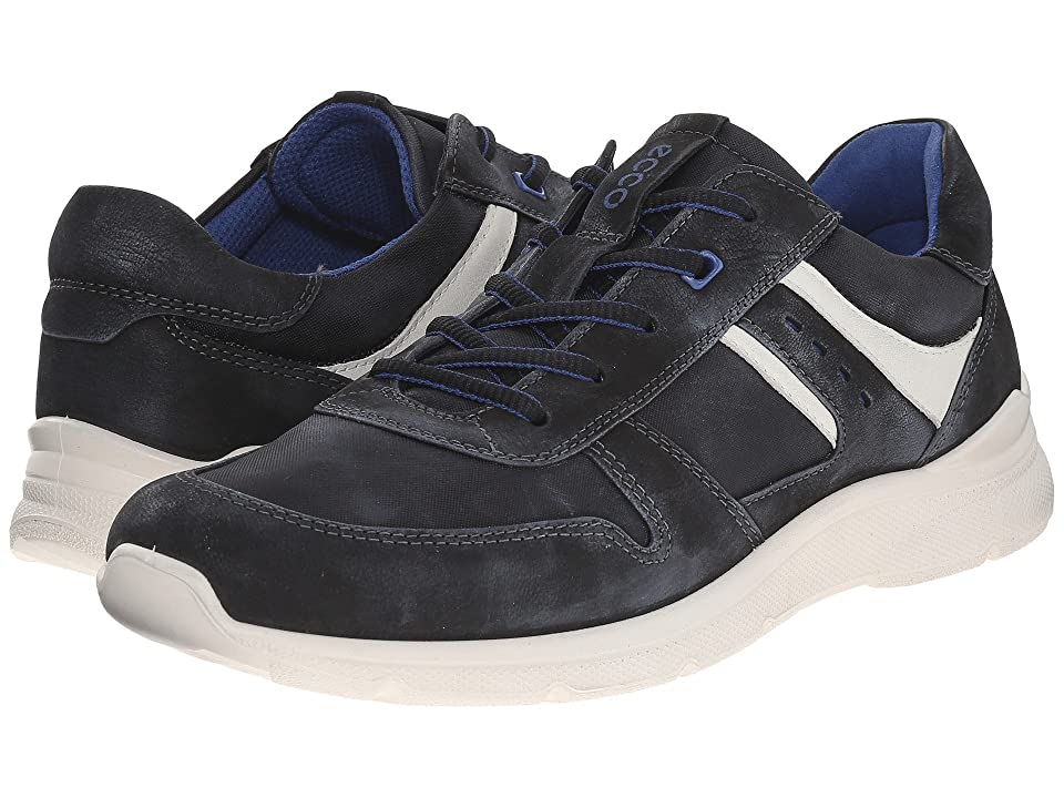 ECCO Irondale Retro Sneaker (Black/Black) Men