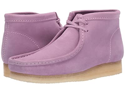 Clarks Wallabee Boot (Lavender Suede) Men