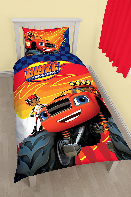 Blaze Zoom BLZZOMDS001UK1 - Resplandor y el monstruo edredón, diseño de máquinas
