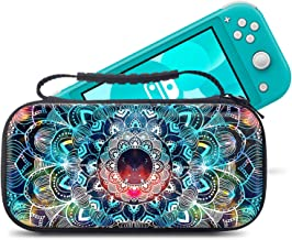 Slim case for Nintendo Switch Lite 2019, Lightweight Protective Storage Case with Waterproof EVA Shell for Switch Console & Accessories