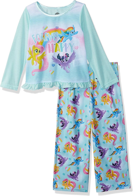My Little Pony Girls Rainbow Hearts 2-Piece Pajama Set