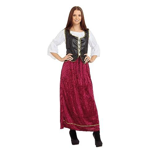 4df10f400 Bristol Novelty AC385 Tudor Wench Female Costume (One Size)