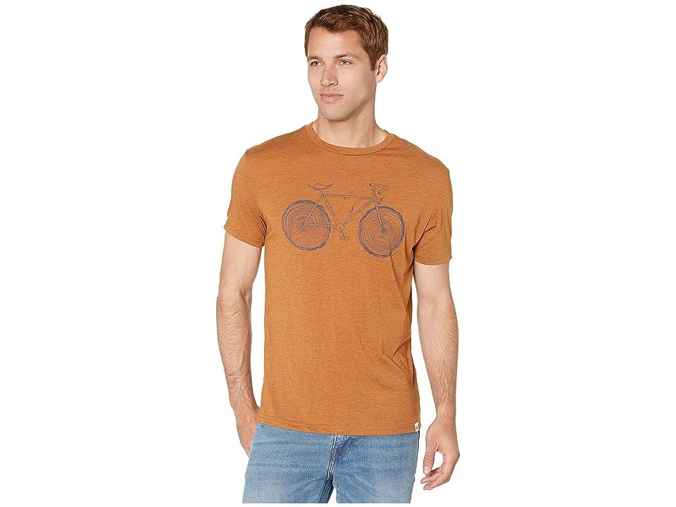 tentree Elms T-Shirt (Brown Sugar) Men