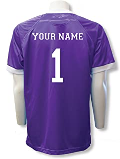 08fcc1f42 Short Sleeve Goalie Jersey Personalized with Your Name and Number (with  free keeper pin)
