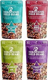 Ferocious Beans Variety 4 Pack Roasted Fava Bean