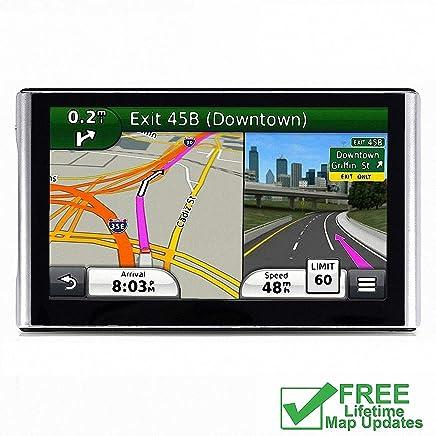 Sistema de navegación de 8 GB para coche, GPS de coche con intermitente giratorio para el vehículo, navegador GPS, actualizaciones de mapas de por vida