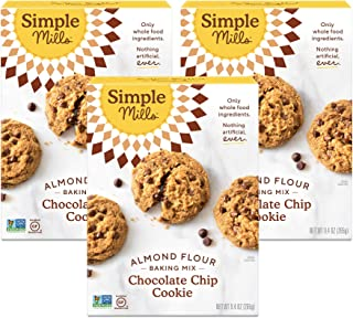 Sponsored Ad - Simple Mills Almond Flour Baking Mix, Gluten Free Chocolate Chip Cookie Dough Mix, Made with whole foods, 3...