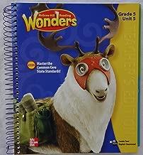 McGraw-Hill Reading Wonders - Grade 5 Unit 5 Teacher's Edition Spiral-bound � 2014
