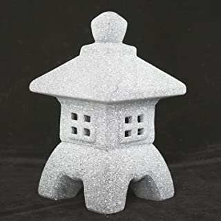 Miniature Ceramic Pagoda/Lantern for Bonsai and Zen Garden - 4.5