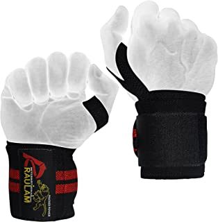 Wrist Wraps / Weight lifting Wrist Wraps Lifting Supports / Weightlifting Wrist Wraps CrossFit and Powerlifting Unisex Improve Hand Strength & Support During Weight Lifting hand wraps.