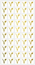 Wedding Meal Stickers - White Square Stickers - Wedding Meal Indicator Stickers - Meal Choice Stickers (50 Stickers - Vega...