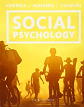 Best social psychology goals in interaction 6th edition Reviews
