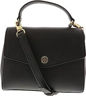 29f5a805e61c Tory Burch Women s Robinson Small Top-Handle Satchel Leather Cross Body Bag