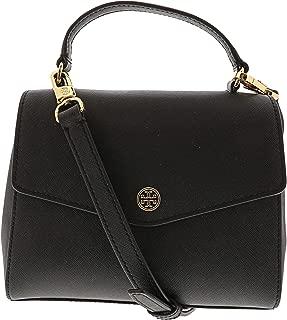 Women's Robinson Small Top-Handle Satchel Leather Cross Body Bag