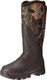 حذاء برقبة طويلة للرجال من المطاط مطبوع عليه Woody Grit من Muck Boot