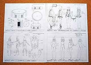 Keijo!!!!!!!! Settei Sheets/Model Sheets 【100pages】 Japan Import